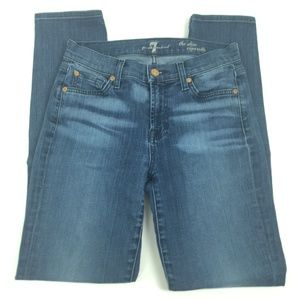 7 for all mankind Jeans Size 26 the slim cigarette
